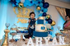 aryan first birthday hayward paradise banquet hall cake smash bay area yash doshi photographer