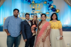 aryan first birthday hayward paradise banquet hall group picture bay area yash doshi photographer
