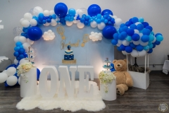 best ballon first birthday party decoration vedamsh birthday bay area yash doshi photographer