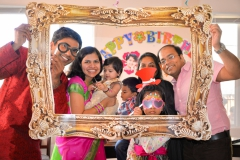 Birthday props family pic Birthday Party Shoot Yash Doshi Photography