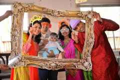 cute baby props birthday party shoot Yash Doshi Photography