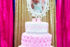 Best decor cradle ceremony cake Yash Doshi Photography