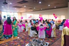 Cradle ceremony public peacock restaurant bay area Yash Doshi Photography