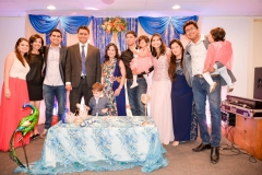 Abhijeet Komal Baby shower Bay area Yash Doshi Photography group picture