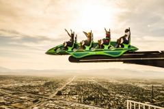 Strosphere tower rides Las Vegas Nevada Landscape Yash Doshi Photography