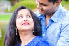 Abhijeet Komal Maternity shoot Friendship garden San Jose Yash Doshi Photography best couple pose 2