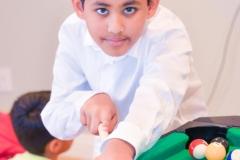 Rohit playing pool yash doshi photography