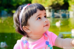 Shanaya Agarwal Super cute baby Japanese Garden Photoshoot
