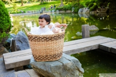 Shanaya Agarwal baby shoot props in Japanese Friendship Garden San Jose Yash Doshi Photography
